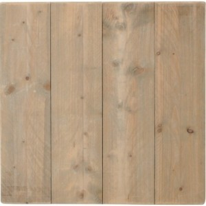 Plateau de table Woody industriel bois-massif pin
