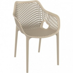 Fauteuil de terrasse Air design polypropylene  dove