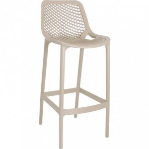 Tabouret de bar Air design polypropylene  dove