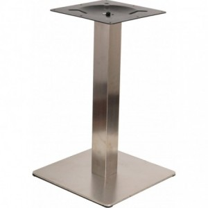 Pietement de table Barlest de restaurant aluminium  mat-
