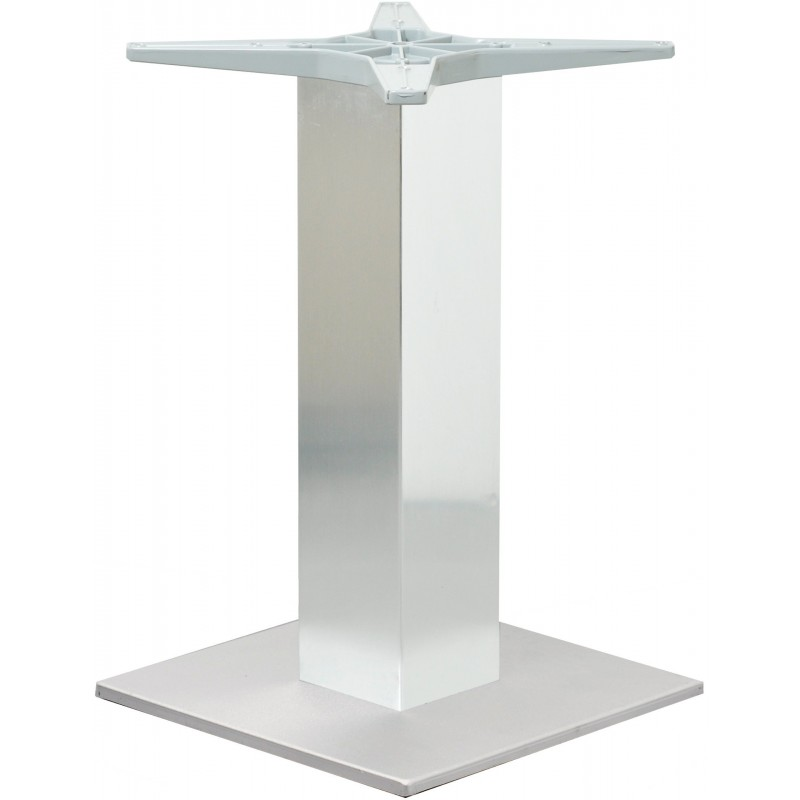 Pietement de table Scandinavia de-terrasse aluminium  look-inox