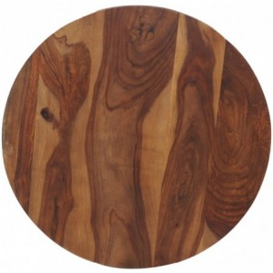 Plateau de table sheesham industriel bois-massif sheesham