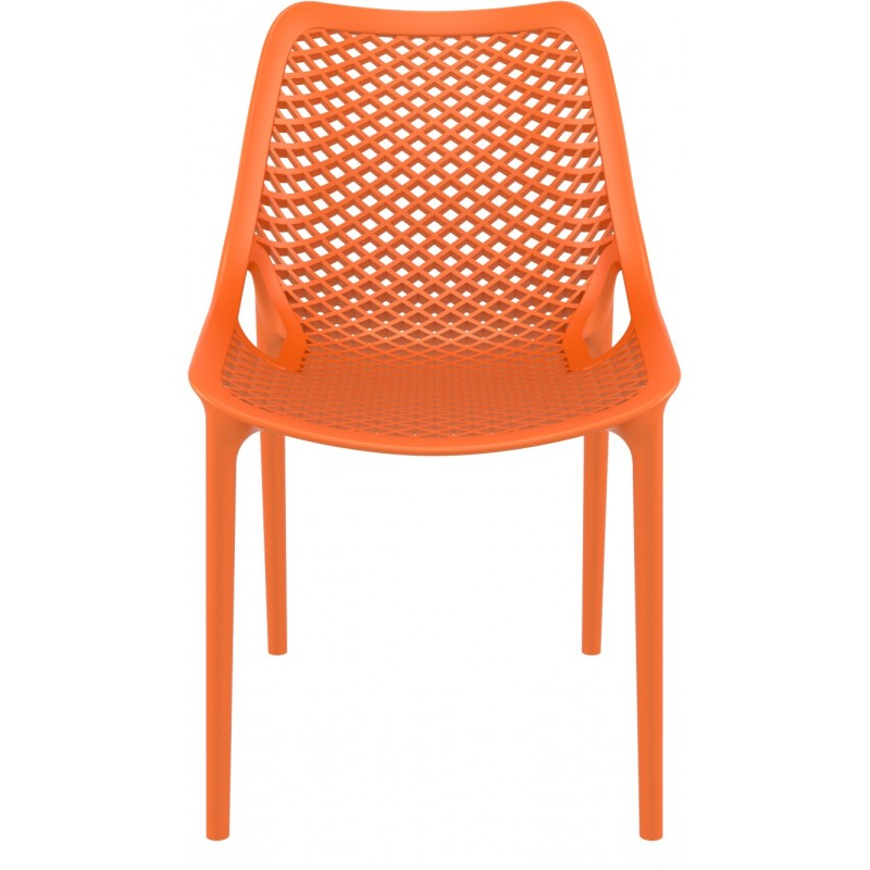 Chaise Extérieur Chaise Air polypropylene orange