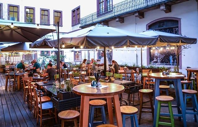 Aménagement terrasse restaurant